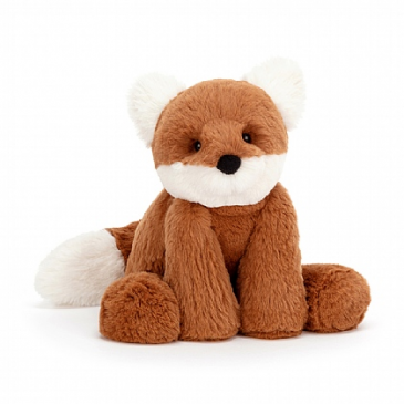 JELLYCAT SMUDGE FOX PLUSH STUFFED ANIMAL