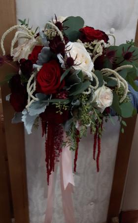 Jennifer Bouquet Cascade Bridal Bouquet