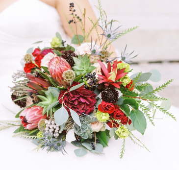 Jewel Bridal Bouquet Bridal Bouquet