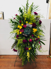 Jewel Tone Beauty  Easel Arrangement