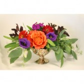 JEWEL TONE TUMBLER FRESH ARRANGEMENT