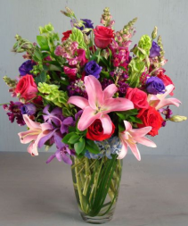 Jewel Tones Arrangement