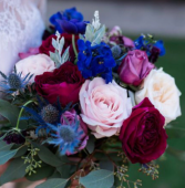 Jewel tones bouquet  Bridal bouquet