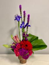 Jewel Tones Floral Arrangement