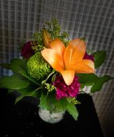 jewel tones Vase Arrangement