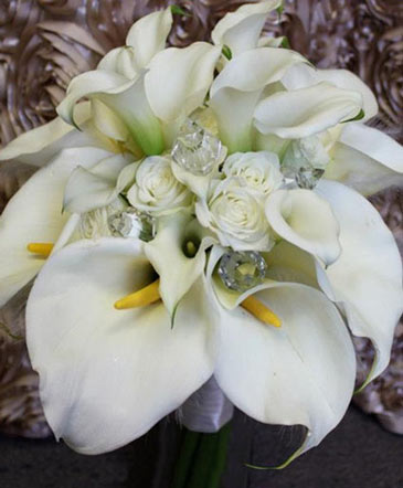 Jewelled Lilies Bouquet