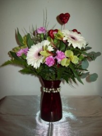 Jewelry & Flowers Bracelet Bouquet