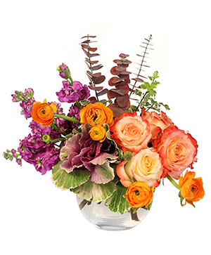 Jewels of Fall Floral Design in Milton, FL | PURPLE TULIP FLORIST INC.