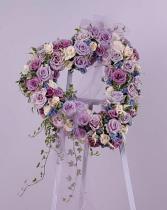 Lavender Rose Heart SF 42-11