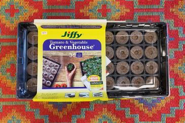 Jiffy Seed Starting Kit