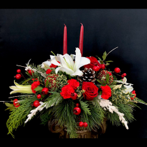 Jingle All The Way Centerpiece