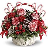 JINGLE BELLS Basket arrangement