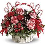 JINGLE BELLS Basket arrangement