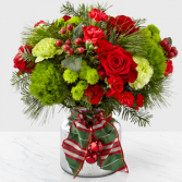 Jingle Bells Bouquet Christmas Arrangement