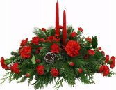 Jingle bells centerpieces