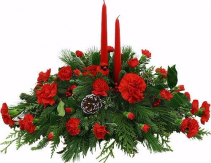 Jingle bells centerpieces