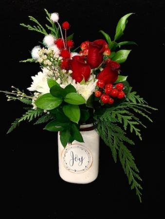 Jingle Bells! Christmas Mug Floral Design