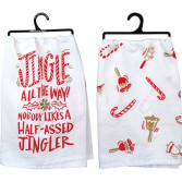 Jingle Christmas Towel
