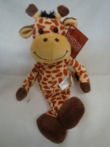"""Add a giraffe to arrangements or cakes,etc. 12"""" tall"""
