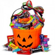 Favorite at Miami in October! Halloween Basket! Send anytime to surprise your kids! Lots of mixed candy!! Need 24 hour notice.