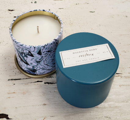 Joanna Gaines' Magnolia Home Small Candle Tin