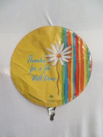 Job Well Done Mylar Balloon Mylar Balloon