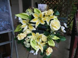 John Deere Green wreath Silk wreath in Bowerston, OH | LADY OF THE LAKE FLORAL & GIFTS