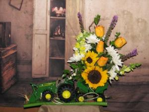 John Deere Tracker  in Stevensville, MT | WildWind Floral Design Studio