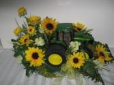 John Deere Tractor Arrangement