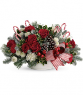 Jolly Candy Cane Bouquet TWR15-1B
