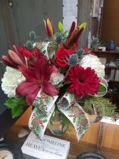 Jolly Holidays Vase Arrangement