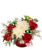Jolly + Joyful Christmas Arrangement