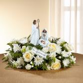 Joseph, Mary and Jesus  Centerpiece