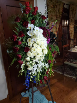 Journey of Life Standing Sympathy Spray in Canton, GA | Canton Florist