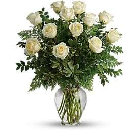 Joy and Roses Vase Arrangement