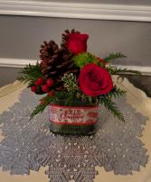Joy Christmas Cube
