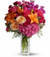 Joy Forever Bouquet Vase Arrangement