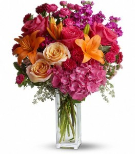 Joy Forever Bouquet Vase Arrangement