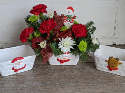 Joy Of Christmas Fresh Arrangement