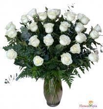 White Roses Bouquet White Roses Arrangement