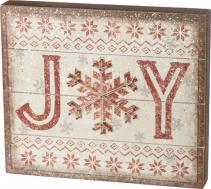 """Joy"" String Art Sign"