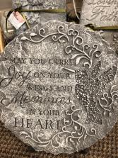 Joy Wings Heart Memory Stone