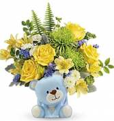 Joyful Blue Bear
