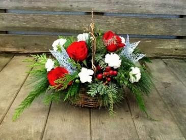 Joyful Christmas Basket