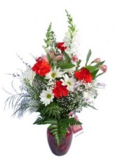 Joyful Expressions- Vase Arrangement Vase Arrangement