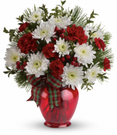 Joyful Gesture Bouquet All-Around Floral Arrangement