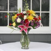 Joyful Moments vase arrangement