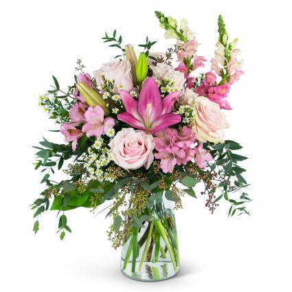 Joyful Pink Meadow Arrangement