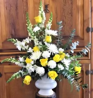 Joyful Remembrance Funeral Urn in Venice, FL | ALWAYS AN OCCASION FLORIST & DECOR