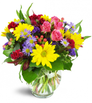 Joyful Thank You arrangement
